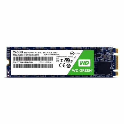 WESTERN DIGITAL WD GREEN 240GB M.2 INTERNAL SSD (WDS240G2G0B)