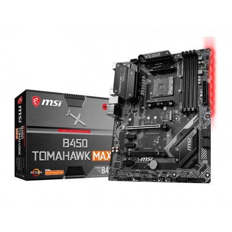 MSI B450 Tomahawk Max Socket AM4 ATX AMD B450