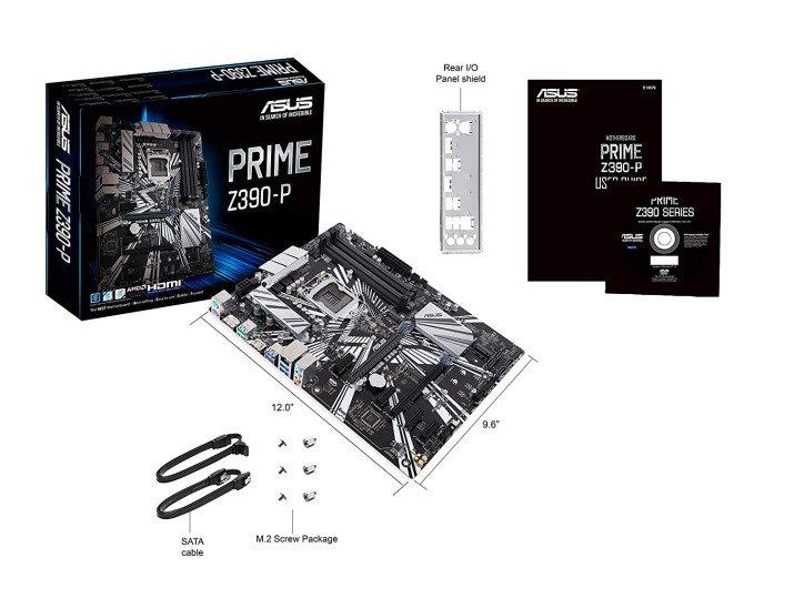 ASUS PRIME Z390-P LGA 1151 (Socket H4) ATX Intel Z390