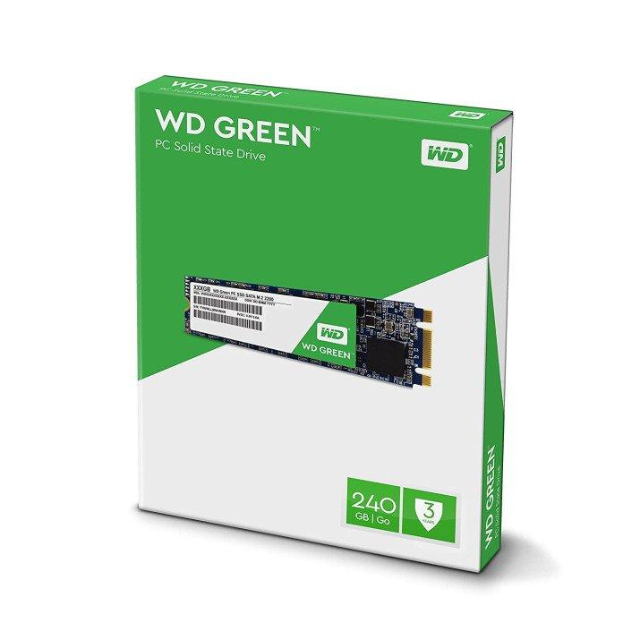 WESTERN DIGITAL WD GREEN 240GB M.2 INTERNAL SSD (WDS240G2G0B)