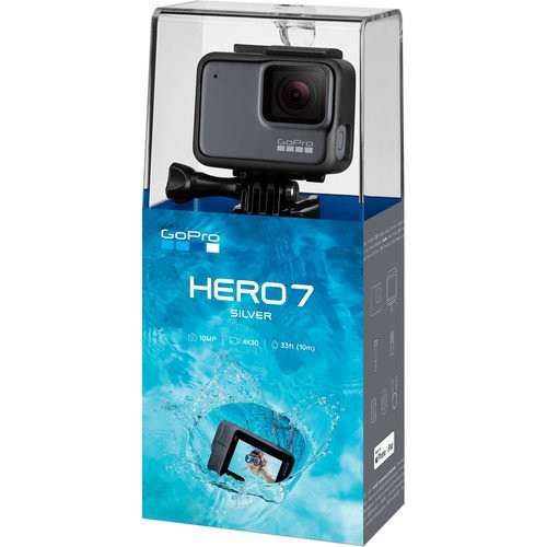 GoPro HERO 7 Silver Sports Action 4K Camera