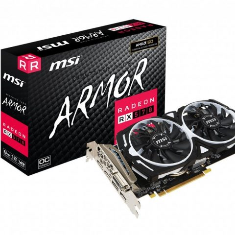 MSI RADEON RX570 ARMOR 8G OC Graphics Card