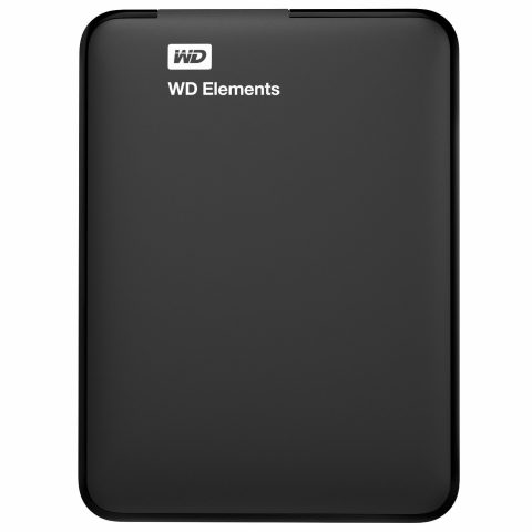Western Digital Elements 1TB USB 3.0 Portable External Hard Drive