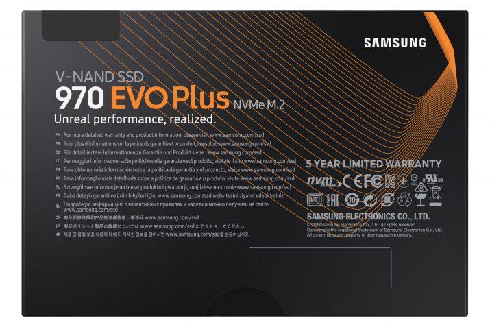 Samsung 970 EVO Plus 250GB PCIe NVMe M.2 (2280) Internal Solid State Drive (SSD)