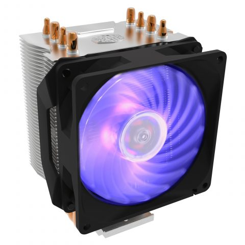 COOLER MASTER HYPER H410R RGB 92MM CPU AIR COOLER