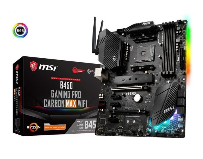 Msi B450 Gaming Pro Carbon Max Wi-Fi Motherboard