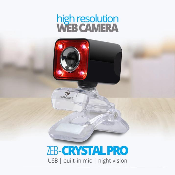 Zebronics ZEB-CRYSTAL PRO Webcam