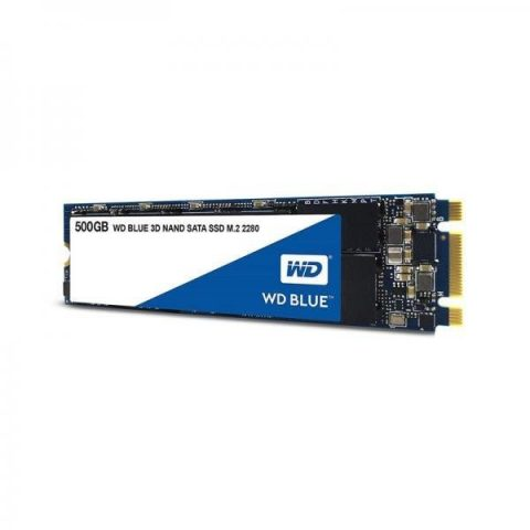 WESTERN DIGITAL BLUE 500GB M.2 3D NAND INTERNAL SSD