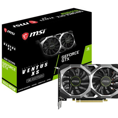 MSI GeForce GTX 1650 SUPER VENTUS XS OC NVIDIA 4 GB GDDR6