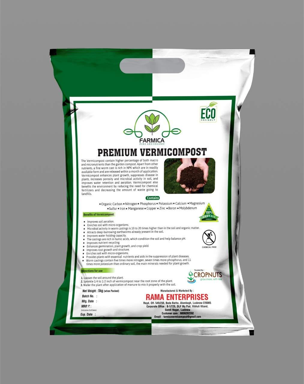FARMICA Premium Vermicompost