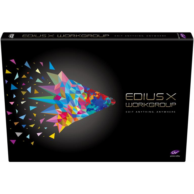EDIUS X Workgroup | Video Editing Software (Upgrade)