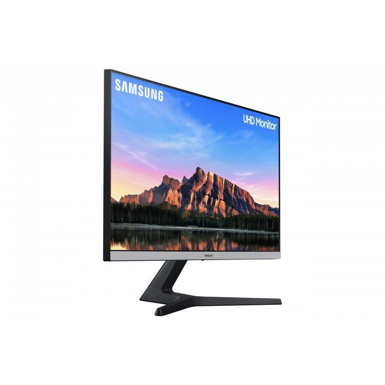Samsung 28 inch (70.8 cm) 4K UHD Monitor with Bezel Less Design and IPS Display Panel (Dark Blue Gray)