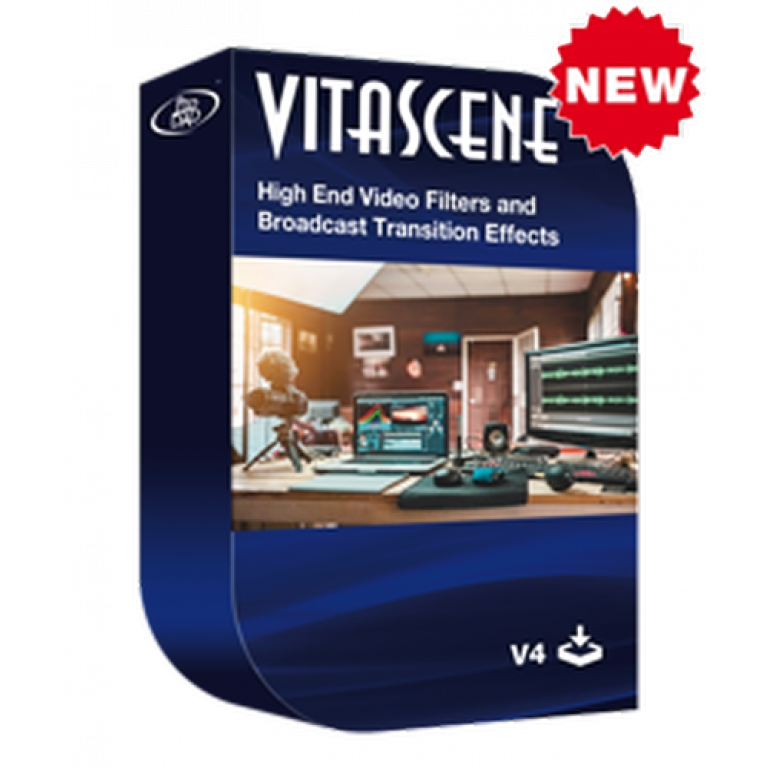 ProDAD Vitascene V4 PRO - effects and filters