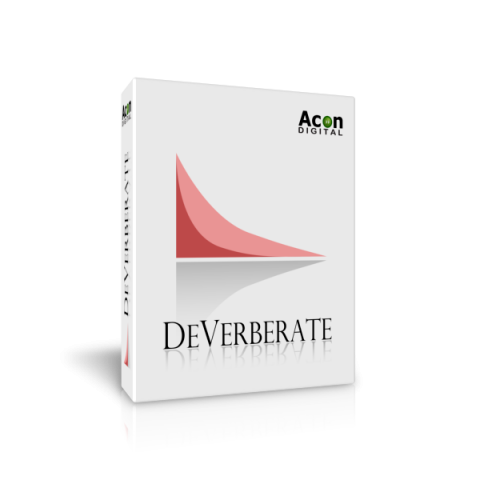 Acon DeVerberate 2 - Reverb Reduction Plug-in