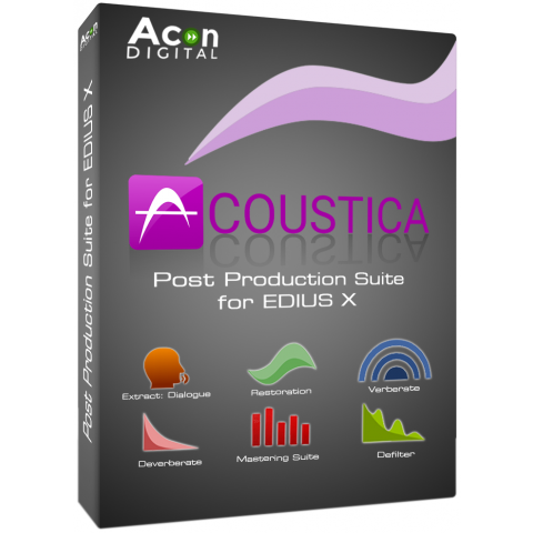 Acon Digital Acoustica Post Production Suite for EDIUS X