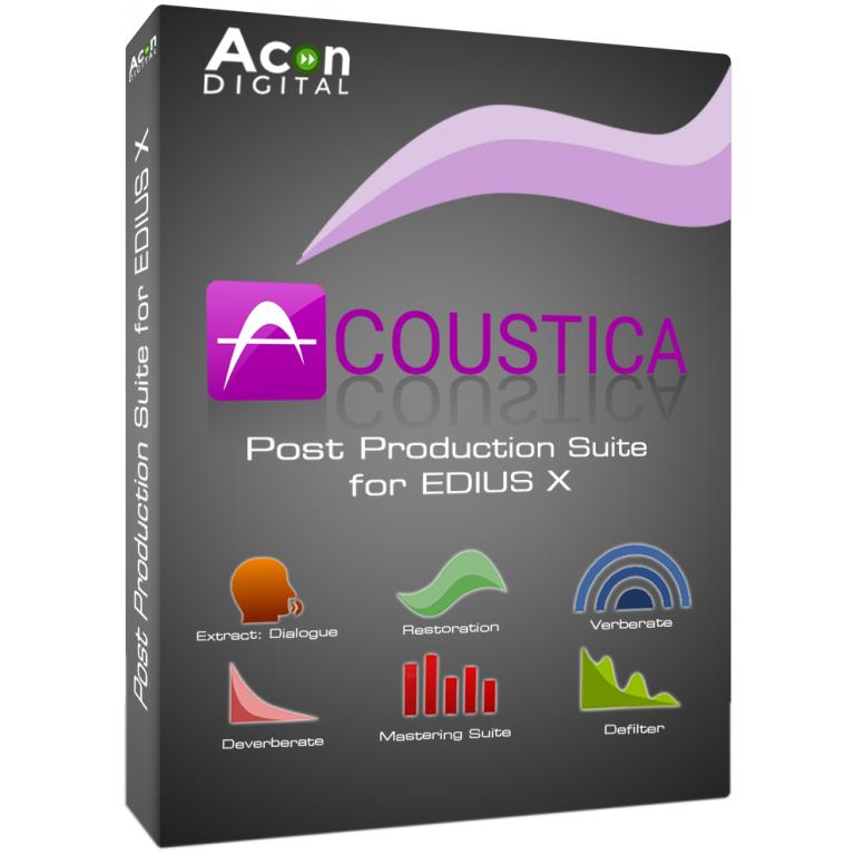 Acon Digital Acoustica Post Production Suite for EDIUS X