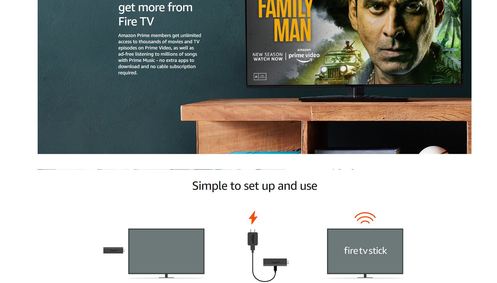 Amazon 3rd Gen Fire TV Stick with All-New Alexa Voice Remote | Streaming Media Player