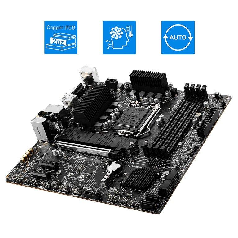 MSI B560M PRO-VDH WiFi Micro-ATX Gaming Motherboard