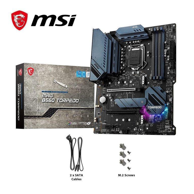MSI MAG B560 Torpedo ATX Gaming/Editing Motherboard