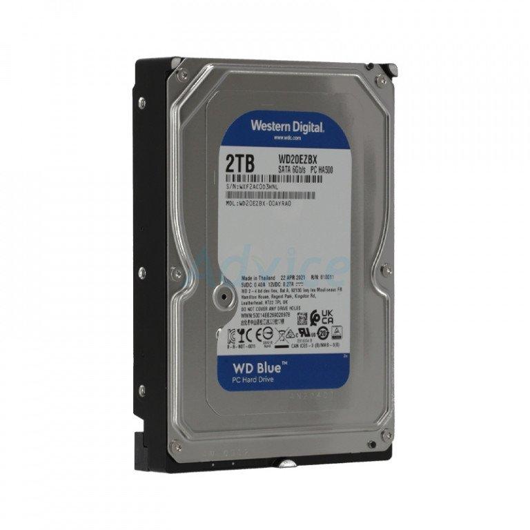 Western Digital Blue 2TB 7200 RPM Desktop HDD